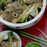 Pork Hocks Simmered with Bamboo Shoots