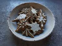 Spiced Gingerbread Cookies with Royal Icing
