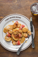 Seafood Newburg (Lobster, Scallops, and Shrimp in Sherry Cream Sauce)
