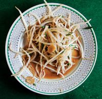 Tauge Goreng (Stir-Fried Bean Sprouts With Chinese Chives)