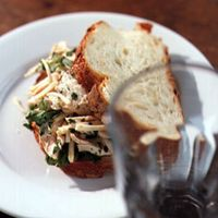 Chicken and Parsley Root Salad