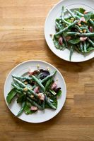 Salad of Haricots Verts and Green Hazelnuts