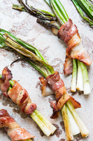 Bacon-Wrapped Scallions (Cipollate con Pancetta)
