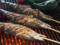 Grilled Fish Skewers (Pescado Embarazado)