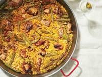 Valencian Chicken and Rabbit Paella