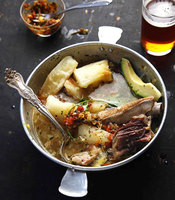 Colombian Pork, Beef, and Chicken Soup (Puchero)