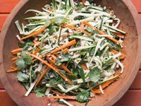 Spicy Thai-style Zucchini & Carrot Salad