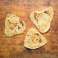 Paratha  (Indian Layered Flatbread)