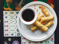 Deep-Fried Pork Spring Rolls (Lumpia)
