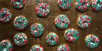Mexican Butter Cookies with Sprinkles (Galletas con Chochitos)