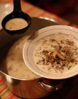 Wild Rice Soup with Maple Syrup