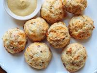 Nut and Cheese Gougères