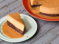 Flan Imposible (Impossible Chocolate Flan)