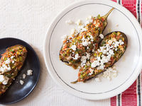 Turkish Stuffed Eggplant (Imam Bayildi)