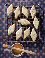 Pirishkes (Poppy Seed-Honey Cookies)