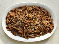 Blood Pasta With Blood Sausage Bolognese