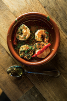 Gambas Al Ajillo (Chile-Garlic Shrimp)