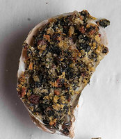Baked Oysters with Bacon and Spinach
