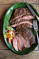 Coffee and Soy-Marinated Flank Steak