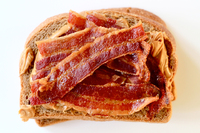 Peanut Butter and Bacon Sandwich