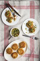 Crab Cakes with Chipotle Aïoli and Pineapple Salsa