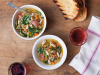 Umbrian Vegetable Soup (Zuppa di Verdure all'Agliata)