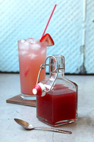 Chile-Spiced Strawberry Syrup