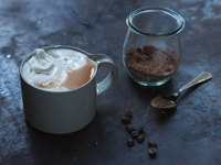 Coffee-Spiked Hot Chocolate
