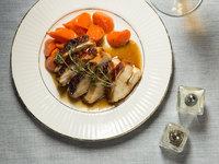 Pan-Roasted Chicken with Madeira Sauce