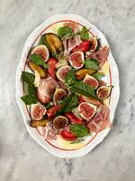 Fig, Plum, and Prosciutto Salad with Kaltbach Le Crémeux Cheese