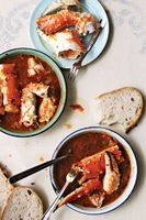 Crab and Fennel Stew