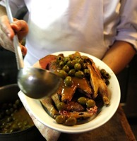 Canard aux Olives (Roast Duck with Olives)