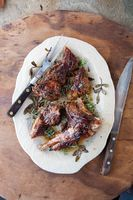 Roasted Lamb with Rosemary (Arni me Dendrolivano)