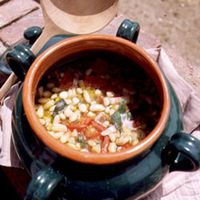 Florentine-Style Baked Beans