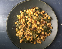 Cretan Bean Stew with Spinach