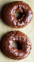 Gluten-Free Cake Donuts with Chocolate Glaze