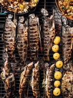 Grilled Trout with Lemon and Fennel Fronds
