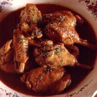 Farmhouse Chicken in Vinegar Sauce